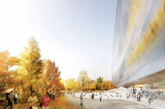 让•努维尔设计的中国国家艺术博物馆