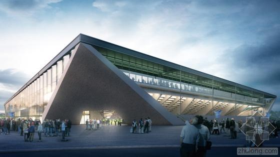 MLZD设计的全玻璃幕墙洛桑足球体育馆方案中标