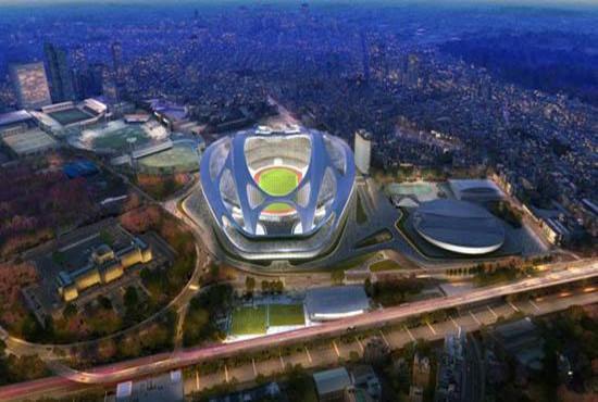 """东京耗巨资奥运主场馆设计遭吐槽被指""""像乌龟"""""""