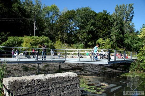 多伦多最珍贵的自然环境公园入口观景台