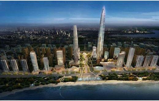 武汉第一高楼——武汉绿地中心机电安装BIM模型完成