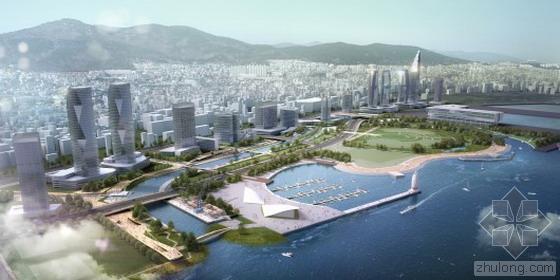 韩国釜山北港海滨公园重建设计方案公布!