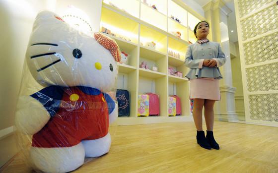 Hello Kitty主题公园首落户中国 感觉萌萌哒