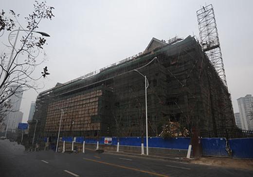 南昌耗資2800萬圖書館仿古特色改造見雛形 古色古香