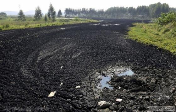 浙江农田重金属超标 系施工单位滥倒污泥