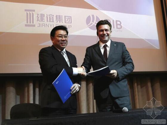 RIB集团与中国BIM领导者建谊集团签订第二阶段iTWO 5D合作协议