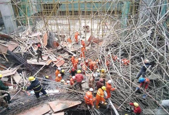 云南工地脚手架坍塌 事故至少造成5人死亡