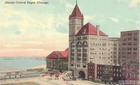芝加哥伊利诺伊中央铁路车站(1893-1972)