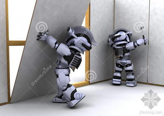 建筑机器人节后亮相房地产工业或迎来新时代-建筑机器人