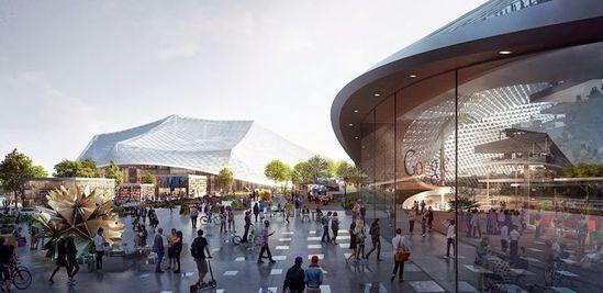 谷歌新园区规划曝光:可移动的透明建筑