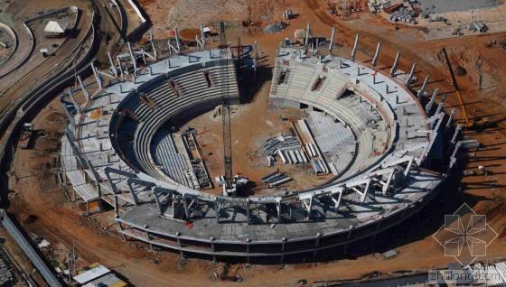 2016年巴西里约奥运会前瞻 奥运场馆鸟瞰图