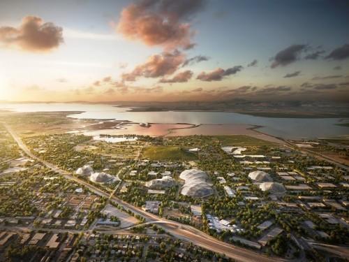 """谷歌新园区""""可移动建筑""""规划曝光 玻璃打造的乌托邦"""