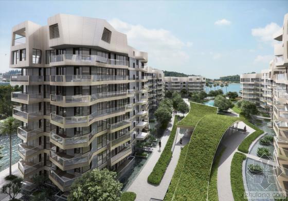 丹尼•里伯斯金新作 新加坡吉宝湾珊瑚综合体项目亮相