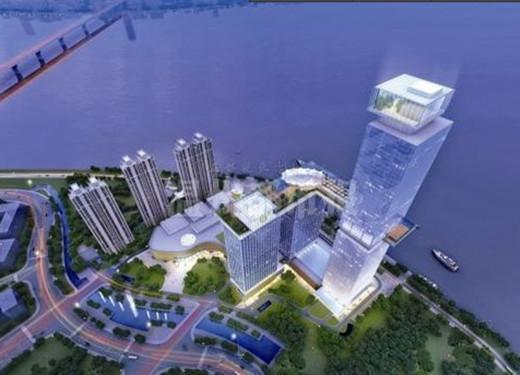 新地标综合体温州中心投资60亿 360度视野288米高度