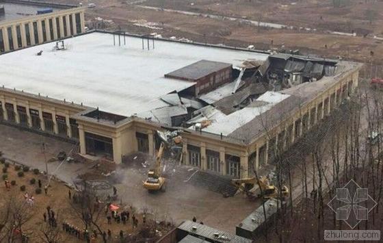 北京朝阳一建筑发生坍塌