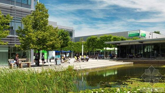 英国雷丁的绿色格林商业社区设计
