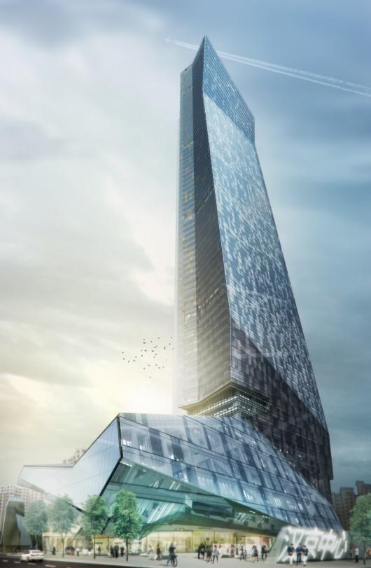 深圳汉京中心大厦破土动工