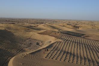 如此模范:甘肃治沙模范公司排污水超8万吨