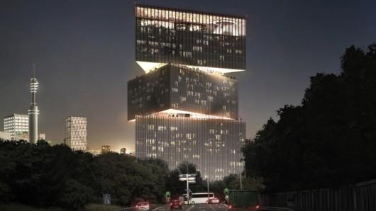 OMA公布阿姆斯特丹Nhow Rai酒店项目方案