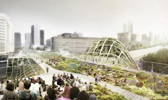 亚特兰大桥梁景观设计竞赛 五个方案最后决绝!