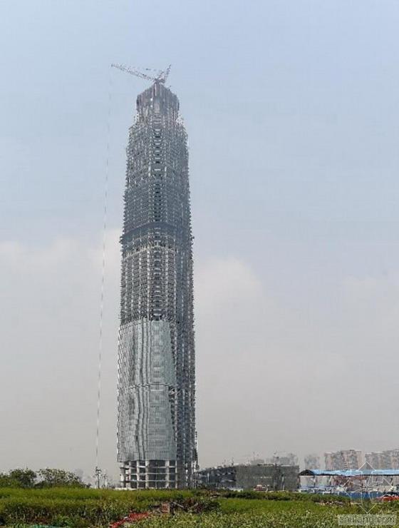 BIM技术助武汉中心大厦成功封顶