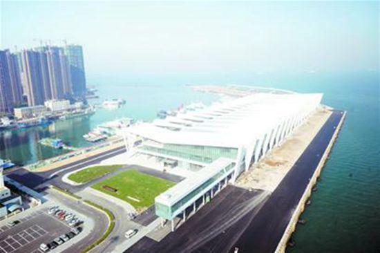 青岛投资千亿邮轮母港城完工
