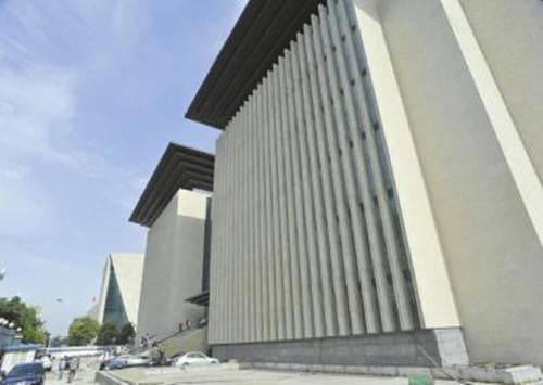 四川投千万新图书馆12月开馆 为汉代书阙加博士帽造型