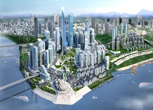 江北嘴世界级金融CBD现雏形 2018年产值将近5000亿