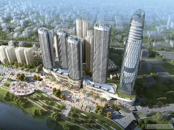 南宁水街旧城改造总投资46亿 邕江北岸又添新地标