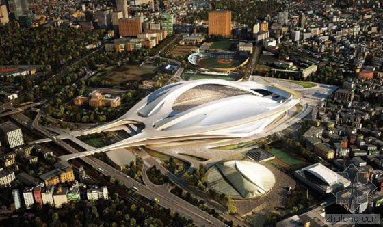 2020年东京奥运主场馆10月开工 耗资128亿人民币