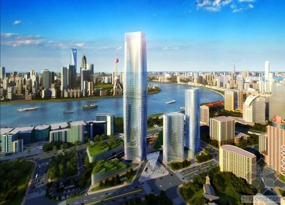 白玉兰广场结构封顶 319.5米高将成浦西第一高楼