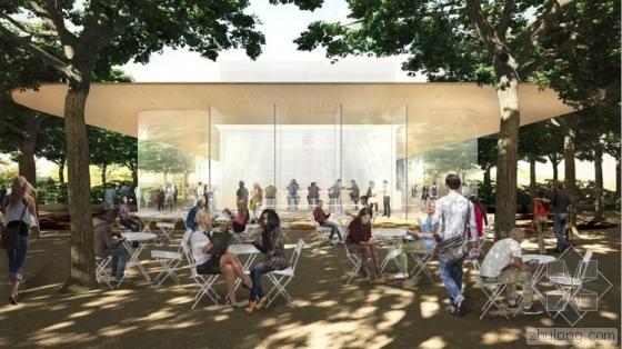 苹果新总部游客中心方案公布