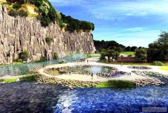 扬州捺山玄武岩地质公园城庆前亮相