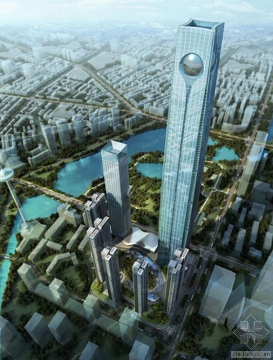沈阳568米宝能环球金融中心开建 将成东北第一高