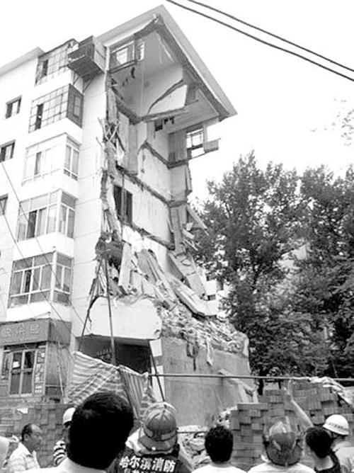 """""""楼塌塌""""事件频发:楼房维护监管机制较弱"""