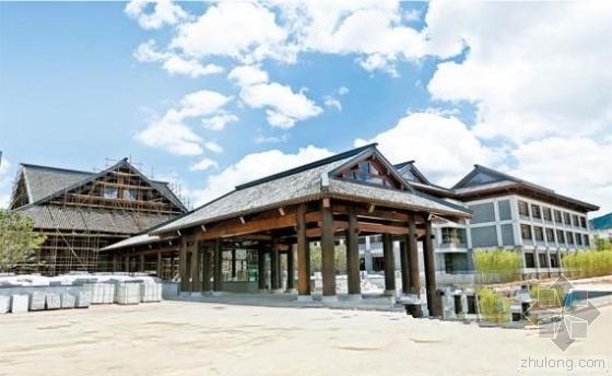 广东省级重点园区 禅泉酒店今日主体封顶