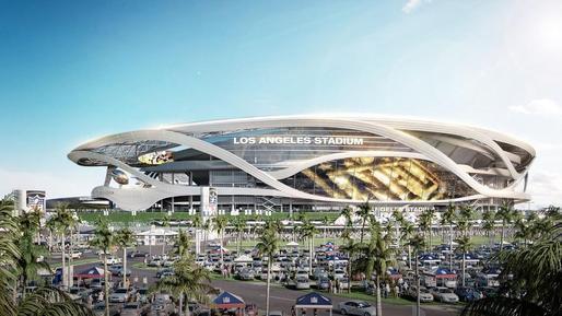 设有农贸市集和超级VIP停车位的体育馆 你见过吗?