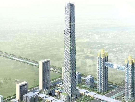 天津117大厦621米混凝土泵送高度创吉尼斯世界纪录