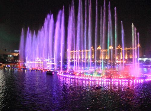 造价千万喷泉建成10年就被拆除
