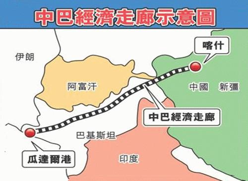 中巴经济走廊投资300亿美元