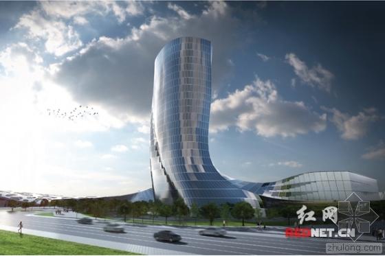 BIM助力湘江欢乐城项目朗豪度假酒店核心筒顺利封顶