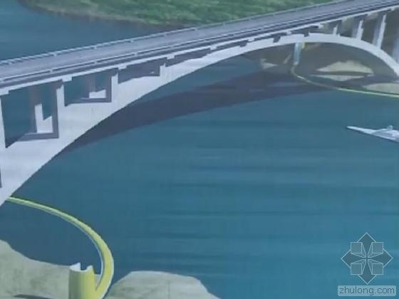 世界首个桥梁防撞带万州长江大桥安装