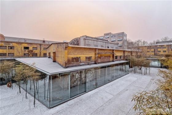 山东淄博 破旧厂房变身工业气息浓厚的当代艺术馆