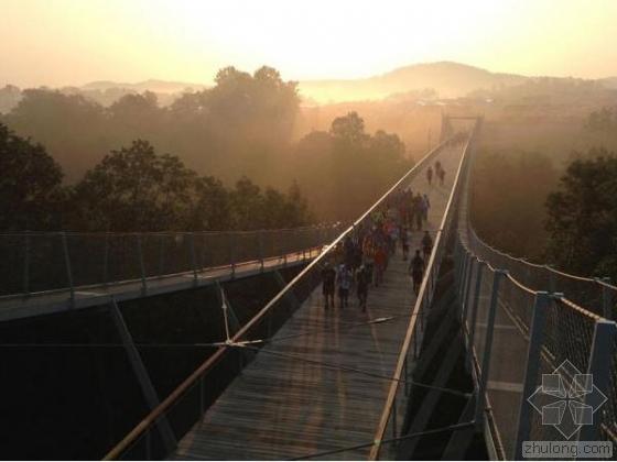 美国童子军桥设计方案