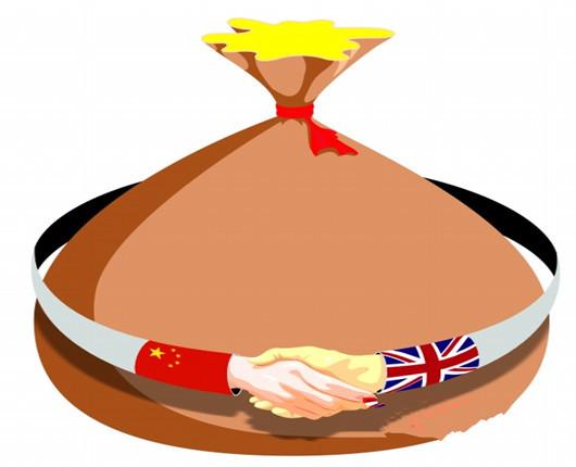 中英签400亿英镑大单