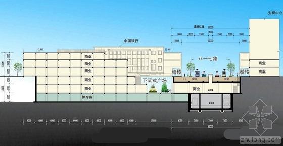 明年6月福州南街将建成4个下沉式广场