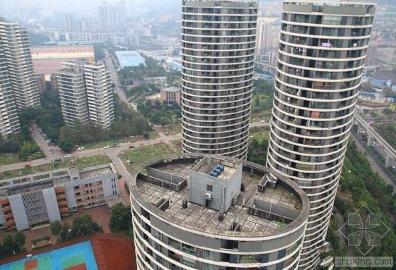 重庆一小区现椭圆形居民楼 据称能抗击12级地震