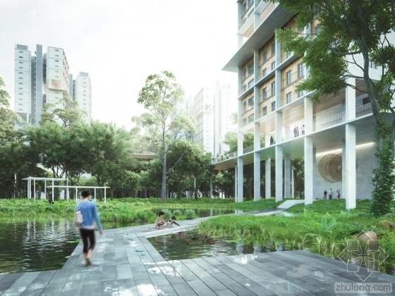 MKPL Architects赢得了新加坡铁路廊道的设计竞赛
