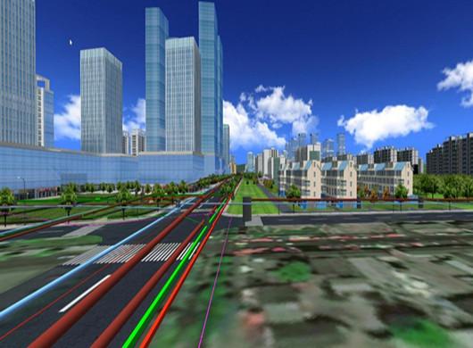 南京地下管线可绕地球1.2圈 斥资1.85亿绘全图