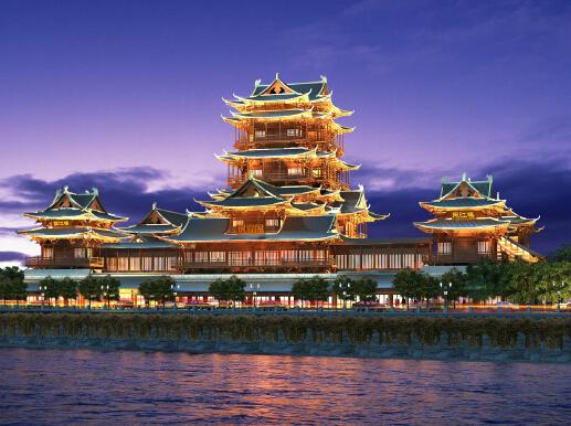 长沙铜官窑国际文化旅游度假区开建 投资100亿元
